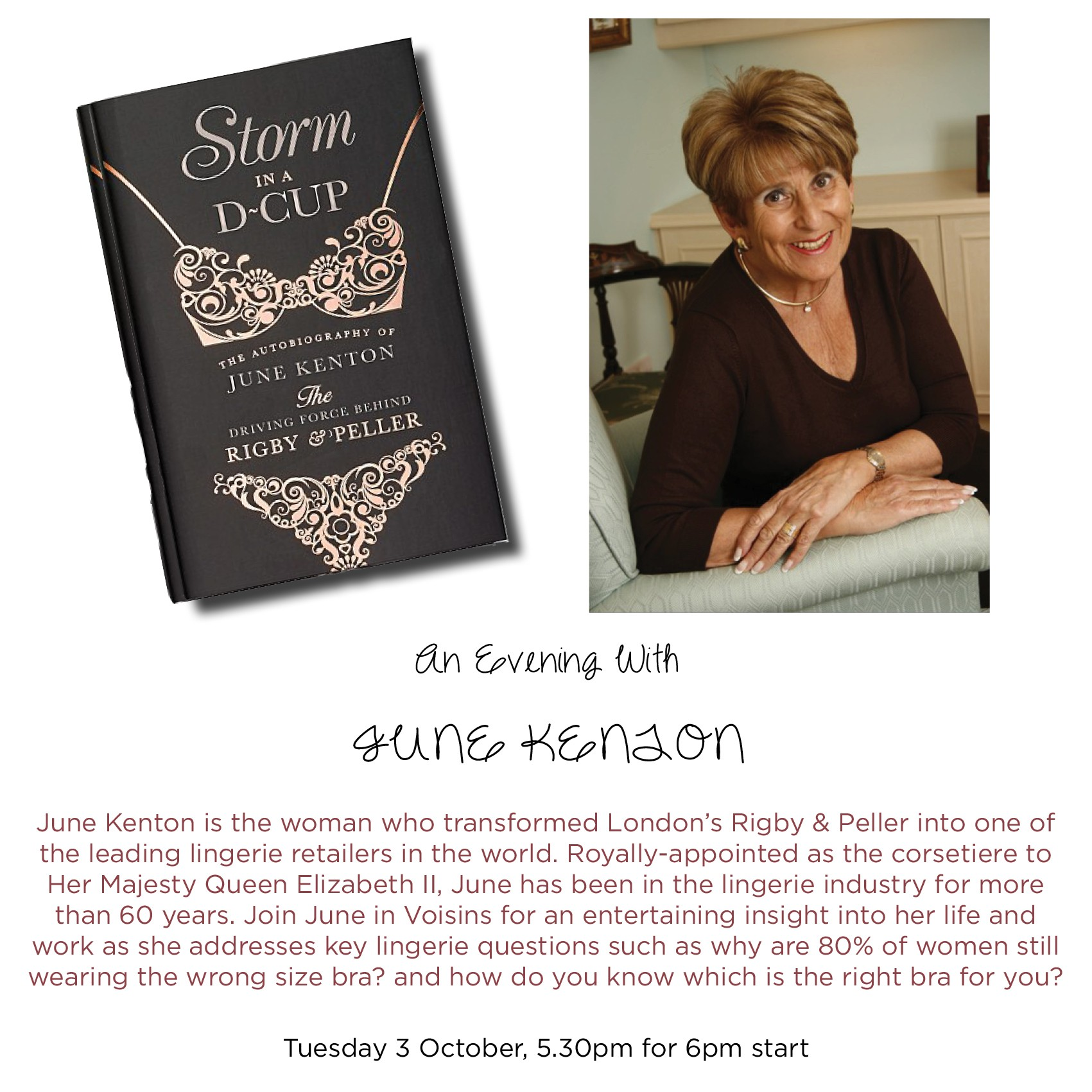 An Evening with June Kenton in aid of ABC